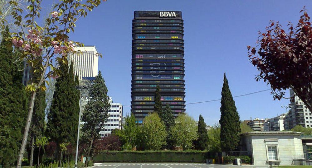 La torre del banco de bilbao de sa nz de oiza arquitectura for Banco popular bilbao oficinas