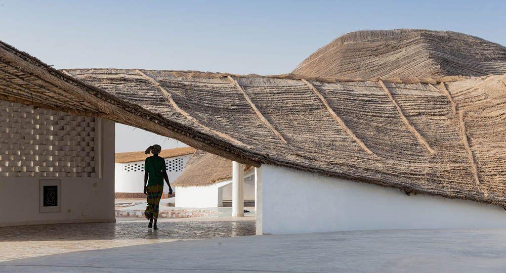 Centro cultural y residencia de artistas Thread, Senegal. Toshiko Mori Architects.
