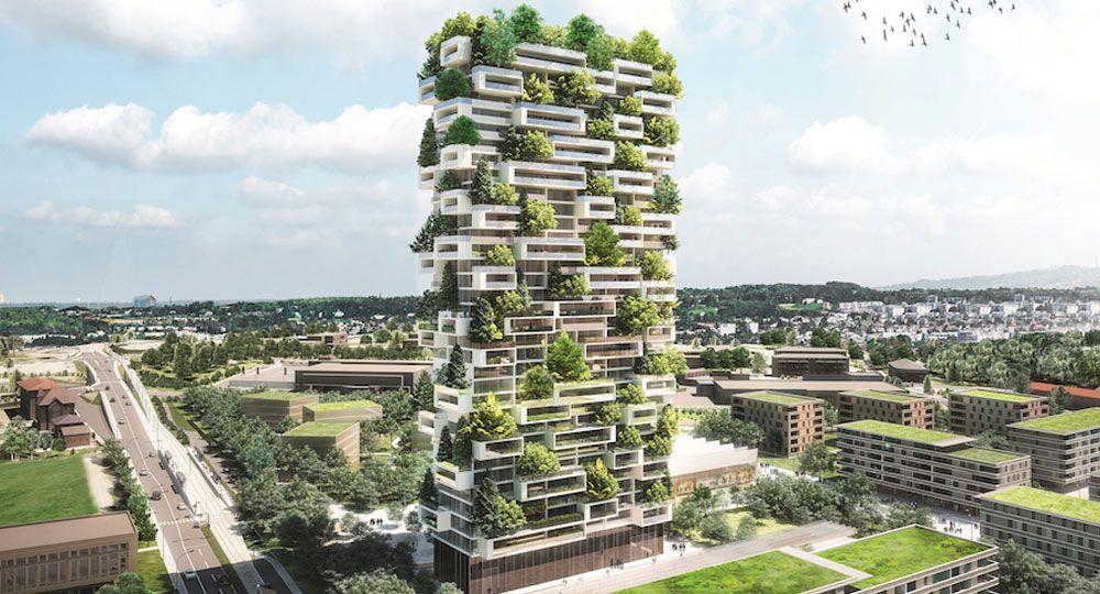Arquitectura verde de altura, el bosque vertical de Stefano Boeri