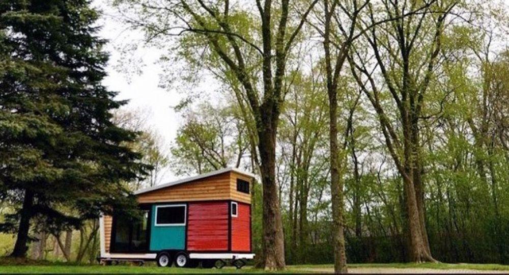 Casa Toybox. Un pequeño espacio diseñado  con elementos ecológicos muy respetuoso con el  medio ambiente.