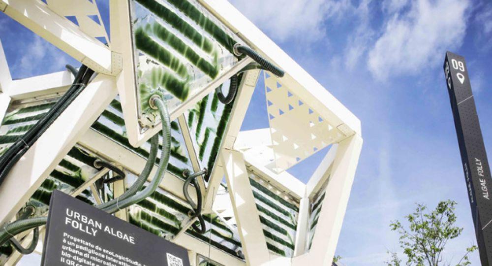 """Agricultura urbana integrada en Arquitectura: """"Urban Algae Folly"""""""