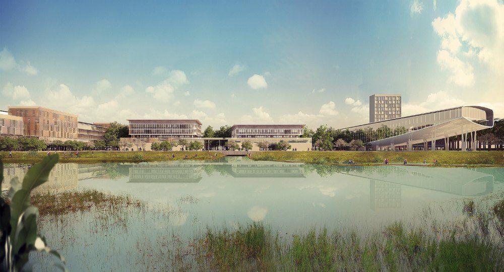 Universidad verde. Un campus sostenible en Vietnam
