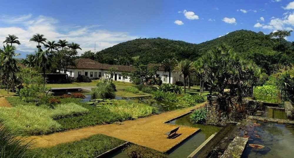 La arquitectura verde de Burle Marx en el jardín de la Hacienda Vargem Grande