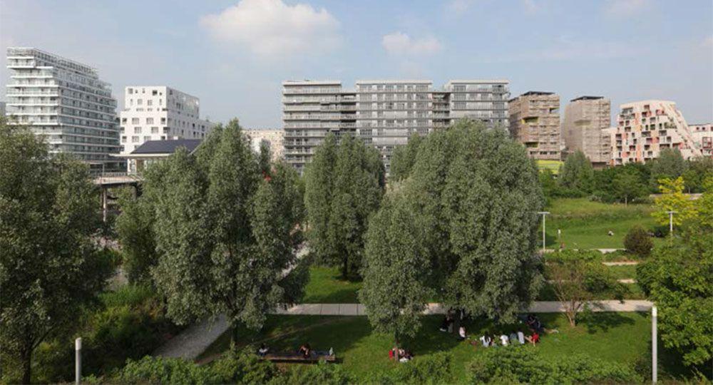 Arquitectura parisina: el eco-barrio Clichy-Batignolles, Gran Premio Ciudad Sostenible en los Green City Solutions Awards 2016.