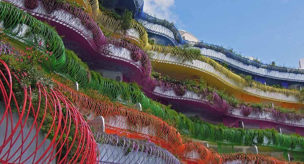La arquitectura verde de Patrick Blanc, padre del jardín vertical.