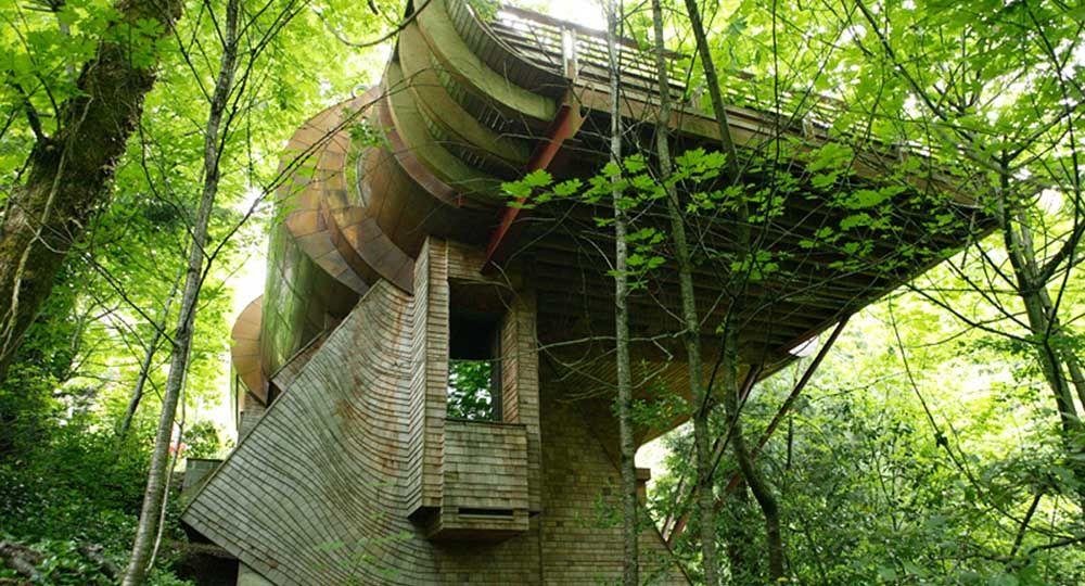 La arquitectura orgánica de Robert Harvey Oshatz. Wilkinson Residence.