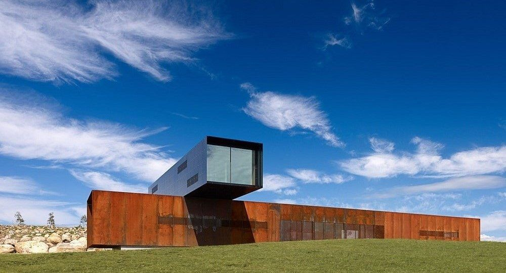 View Hill House, del estudio de arquitectura Denton Corker Marshall