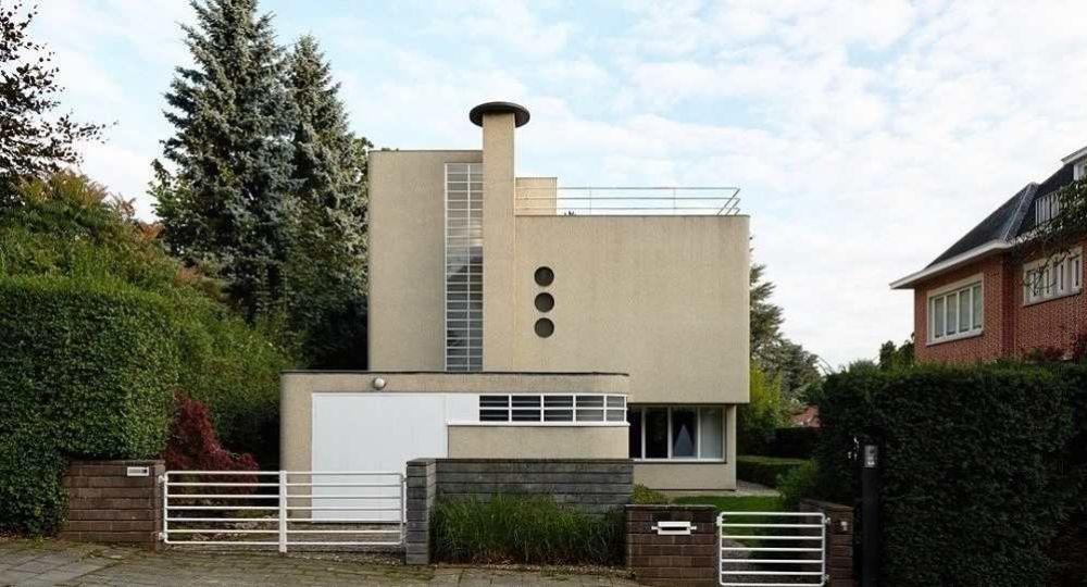 Louis H. de Koninck, arquitectura belga de Estilo Internacional