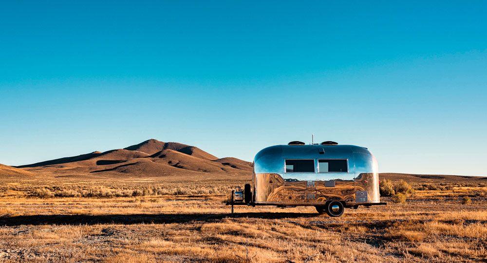Vintage Airstream, una nueva forma de vivir y trabajar. Edmonds + Lee Architects.