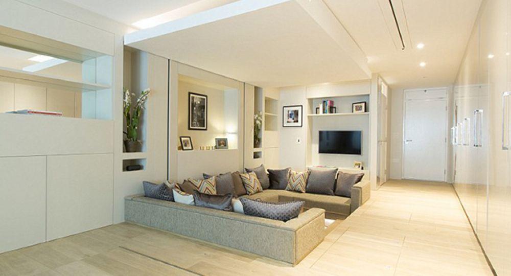 Espacio mini con dise o maxi el apartamento del futuro for Iluminacion para departamentos modernos