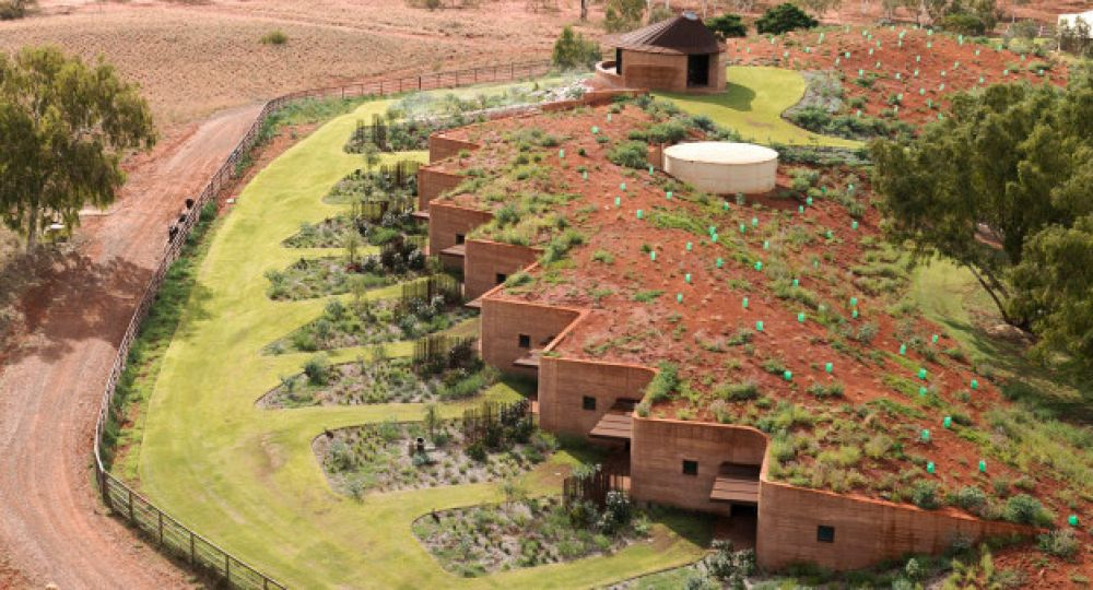 El Gran Muro de WA, un rancho sostenible