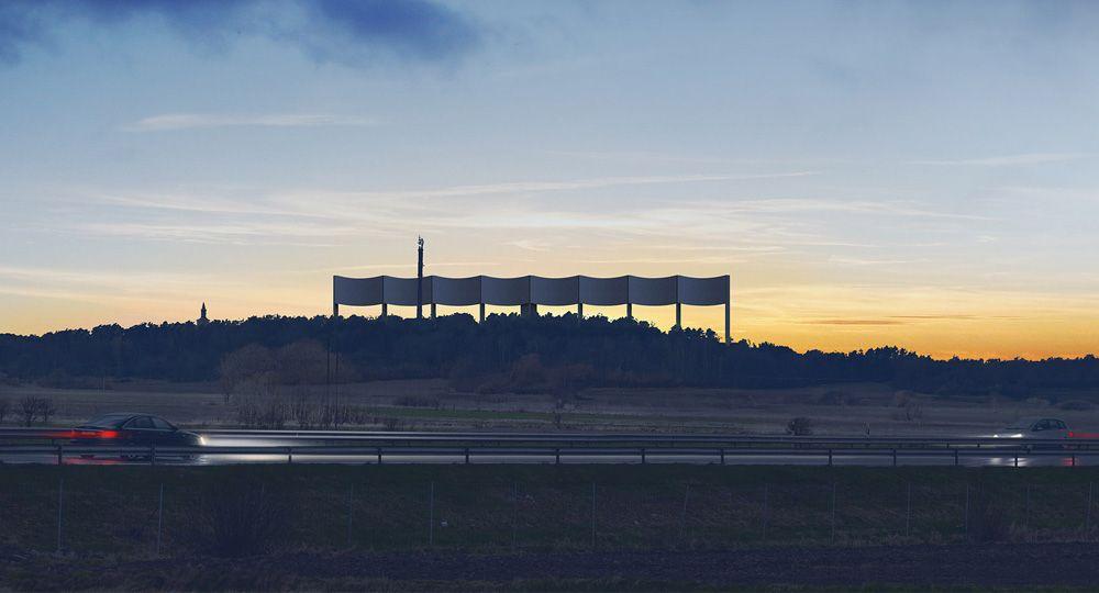 VÅGA: Arquitectura de paisaje