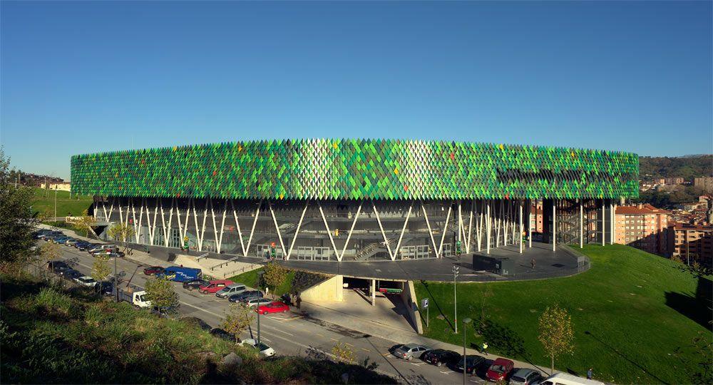 Wicona y el Bilbao Arena. Un complejo de bajo consumo energético