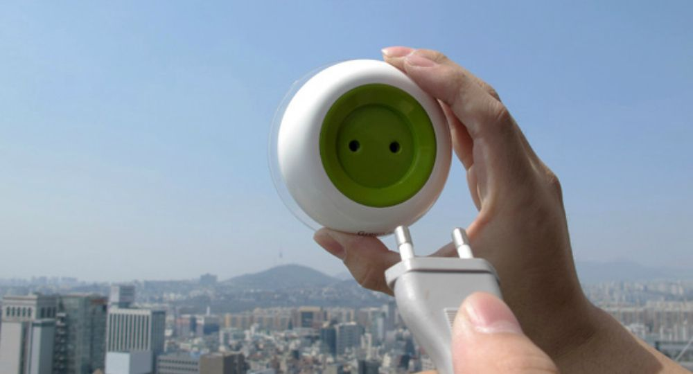 Window Socket, enchufe solar portátil
