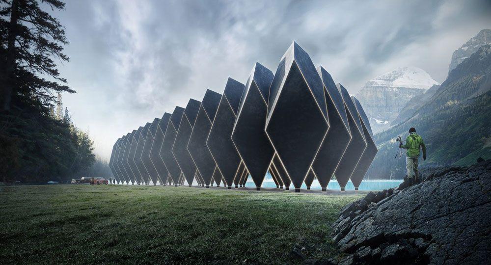 Tetra Hotel: arquitectura extraterrestre