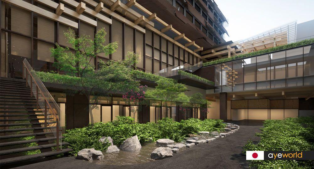 Ace Hotel Kyoto de Kengo Kuma: arquitectura, artesanía y cultura