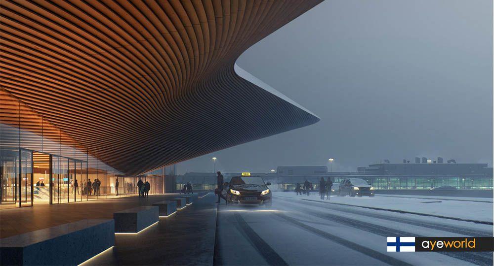 Remodelación de la Terminal 2 del aeropuerto de Helsinki