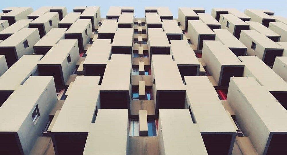 La arquitectura brutalista de Averous en la Marsella de los sesenta