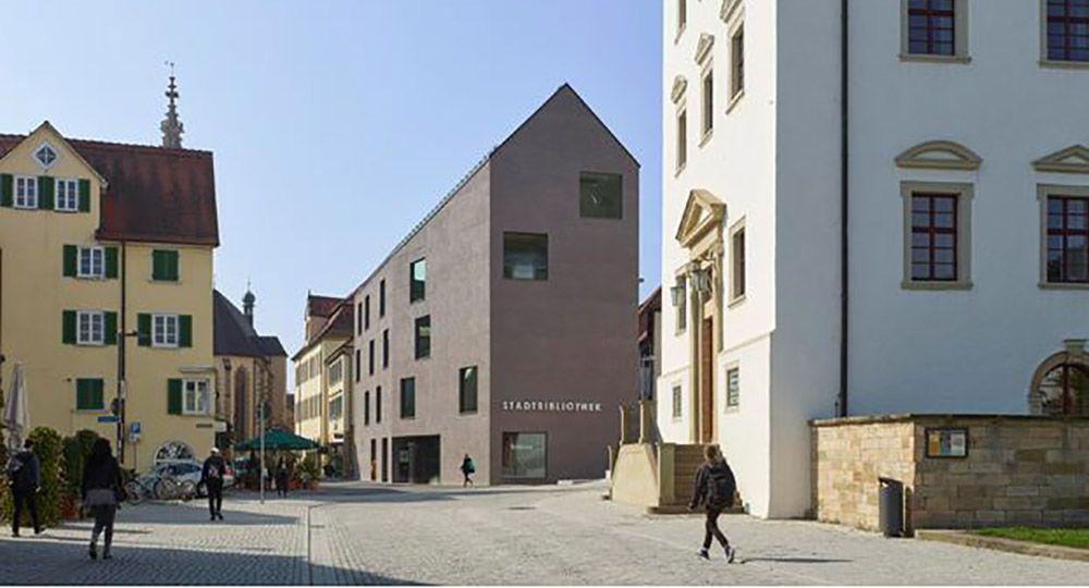 Nueva biblioteca de Rottenburg, de Harris + Kurrle Architekten