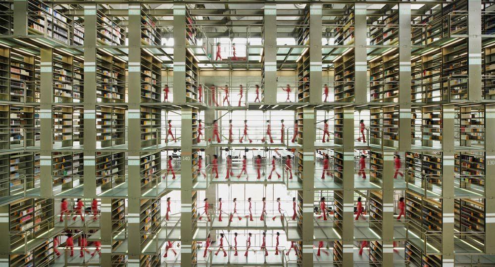 Biblioteca Vasconcelos, una metrópoli de libros