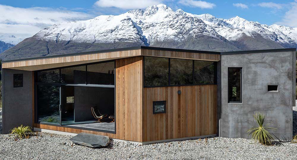 Bivvy Hut, un perfecta fusión de arquitectura y paisaje. Vaughn Mcquarrie Architects