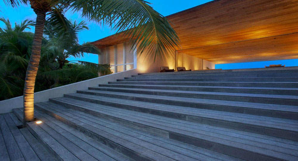 Arquitectura elemental en  Bahamas, Oppenheim Architecture + Design