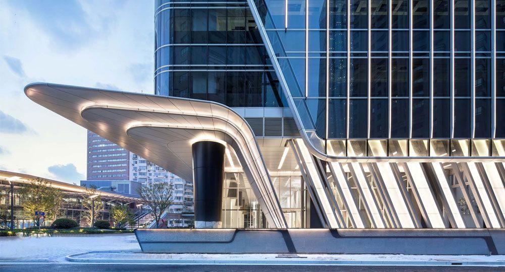 Centro Shanghai  Xujiahui de Ronald Lu & Partners: urbanismo futurista