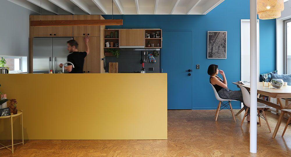 Luz, color y textura: Chen Anselmi Units, Bull O'Sullivan Architecture