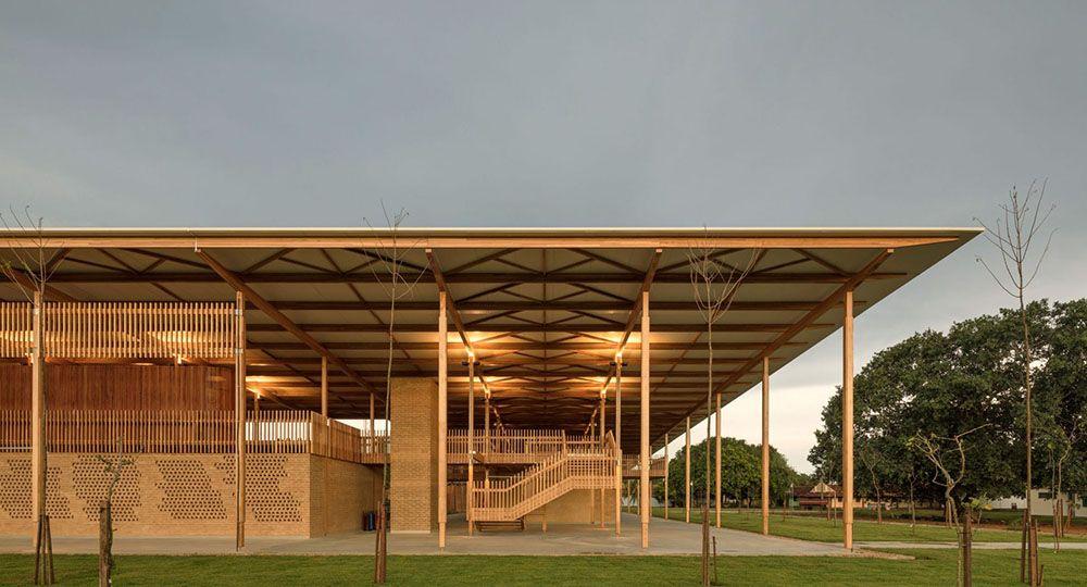 La arquitectura como herramienta de transformación social. Children Village, Canuanã, Brasil