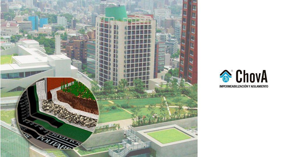 Soluciones ChovA: La importancia de los drenajes y geotextiles en las cubiertas vegetales