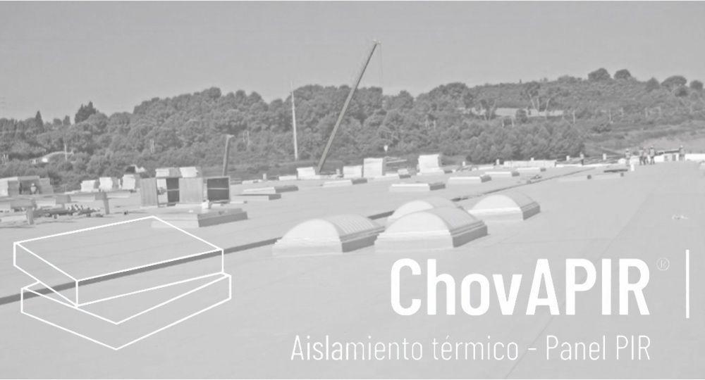 ChovA amplía su familia de Aislamiento Térmico: paneles PIR