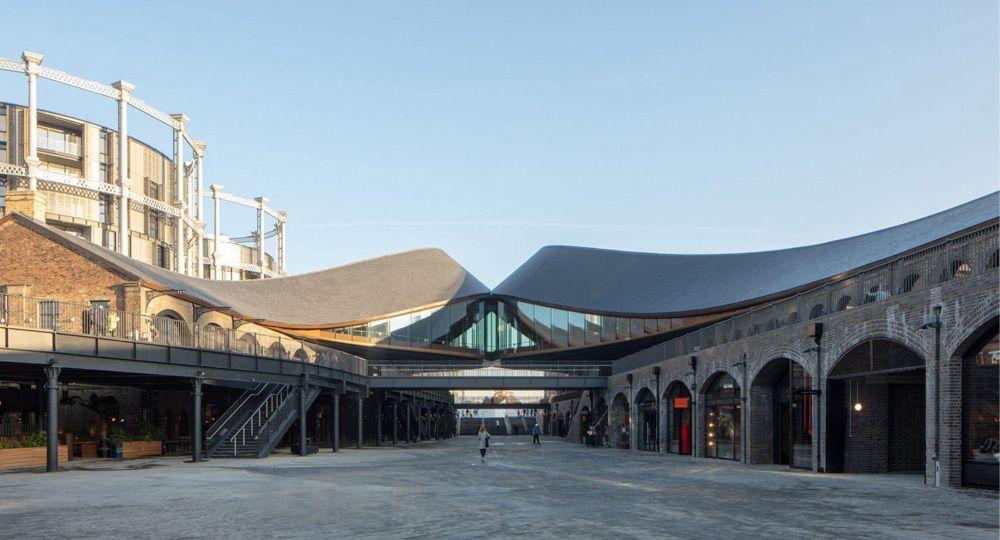 Proyecto Coal Drops Yard. Arquitectura londinense de Heatherwick Studio