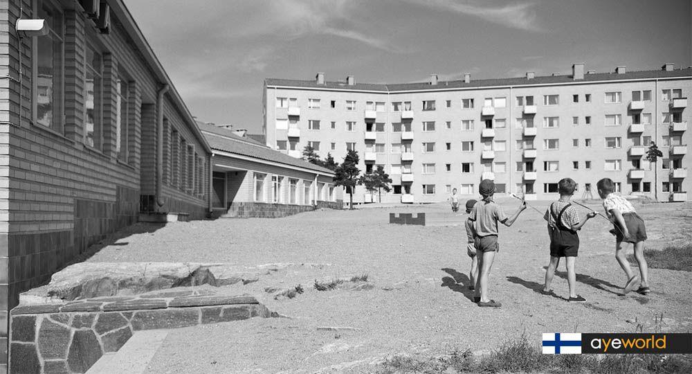 Women's Co-housing en Helsinki