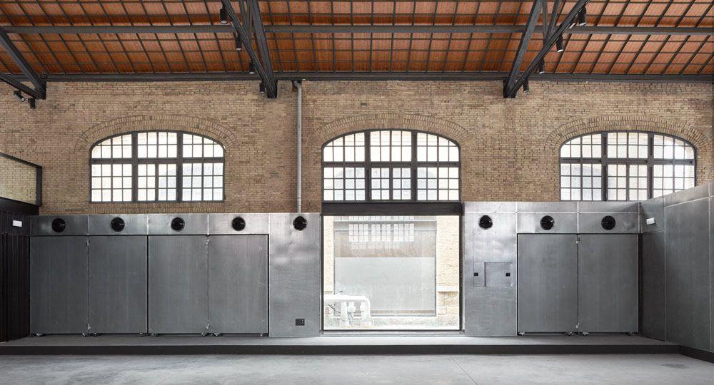 Arquitectura flexible: adaptación de nave ferroviaria a equipamiento cultural