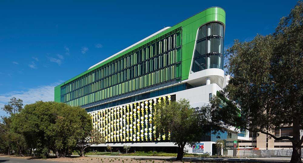 Arquitectura hospitalaria empática. Perth Children's Hospital, Cox Architecture
