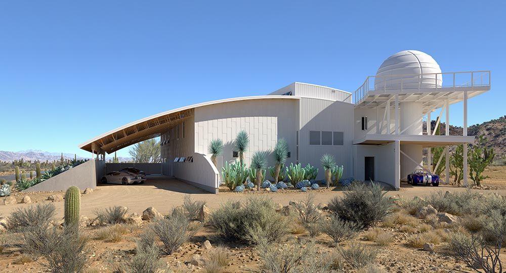Desert Pearl Residence, soluciones sostenibles en climas extremos. Flynn Architecture & Design