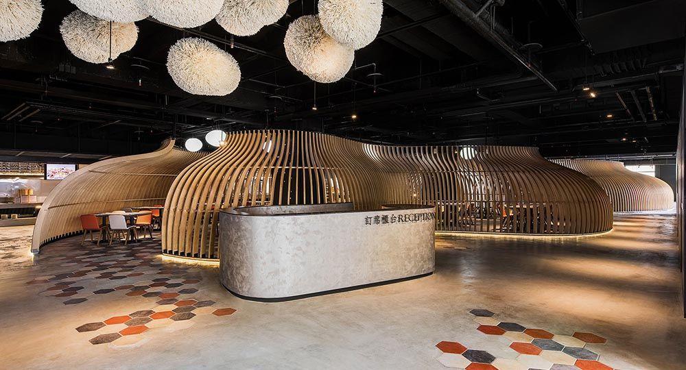 Dining in Nature, ganador de los Premios World Interiors News Awards 2019. 9 Studio Design Group