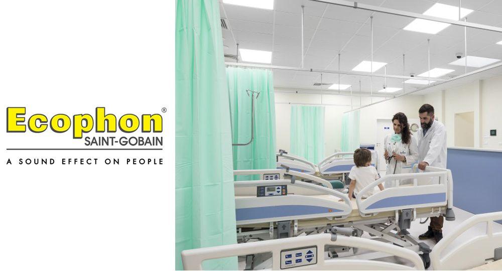 Ecophon: Materiales y revestimientos fonoabsorbentes para la arquitectura sanitaria