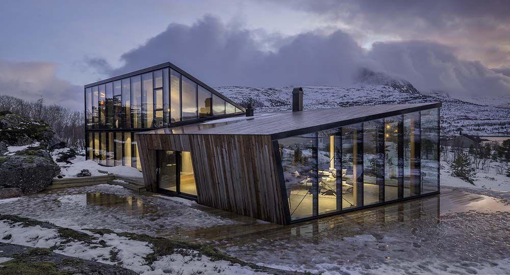Efjord, un retiro vacacional de Snorre Stinessen Architecture