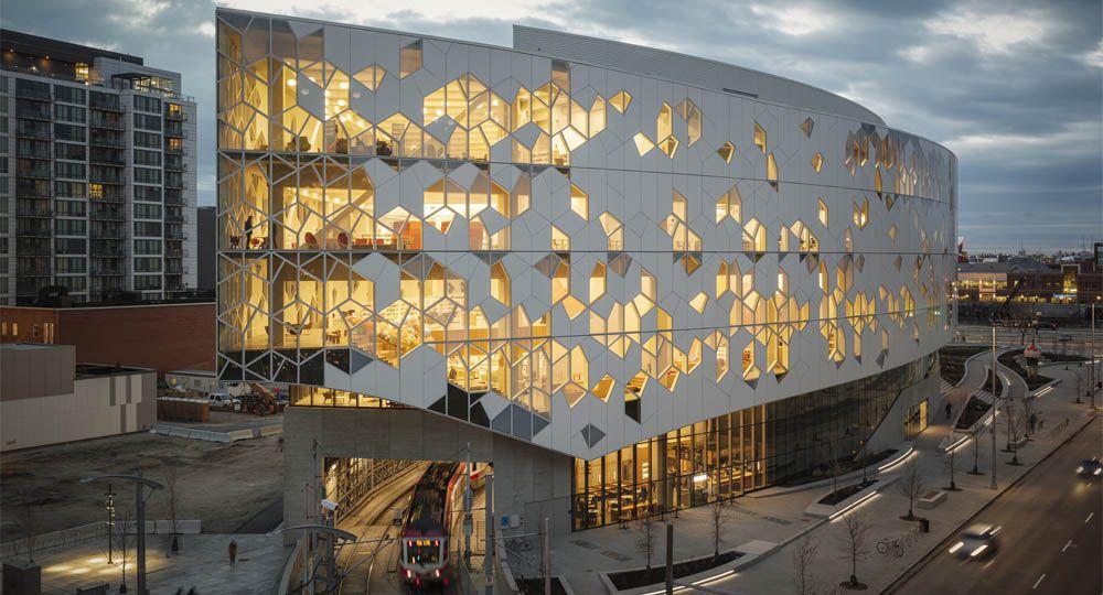 La Biblioteca central de Calgary gana el premio de Edificios de Bibliotecas AIA|ALA 2019