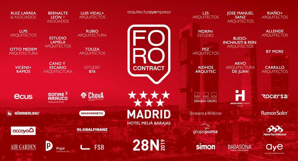 FORO Contract | Arquitectura y Empresa | MADRID