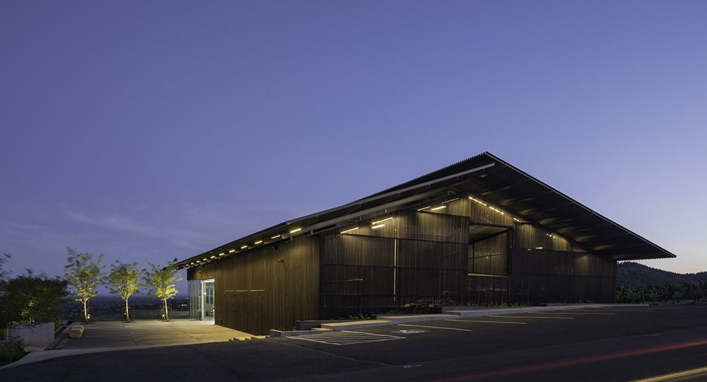 Furioso Vineyard, Oregón.  Waechter Architecture