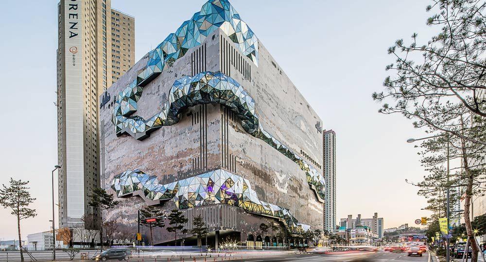 OMA finaliza las obras del centro comercial Galleria Gwanggyo