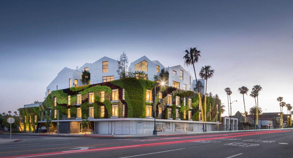 Una colina más en Beverly Hills, Gardenhouse de MAD Architects