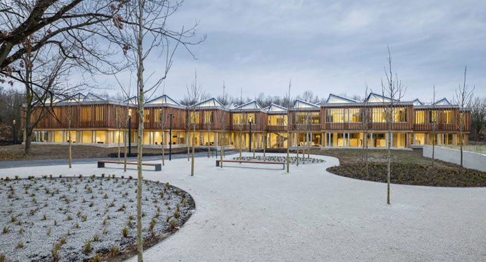 Arquitectura sostenible y paisaje de Waechter + Waechter Architekten
