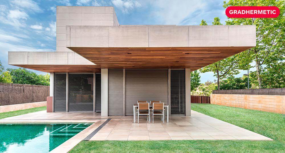 Arquitectura sostenible y beneficios: persianas orientables