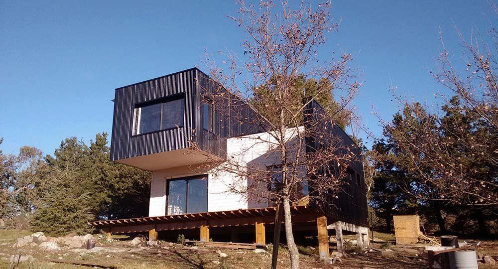 Casa bioclimática en Tandil, Argentina