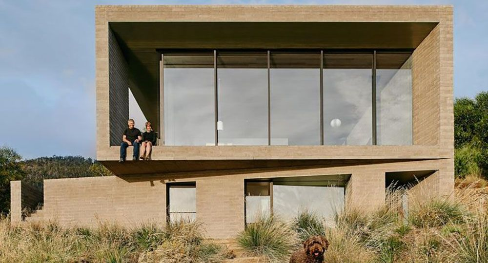 Vivir al borde del agua. Casa en la Bahía de Otago, Australia. Topology Studio