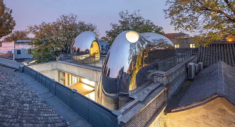Hutong Bubble 218, diálogo entre arquitectura contemporánea y casco histórico