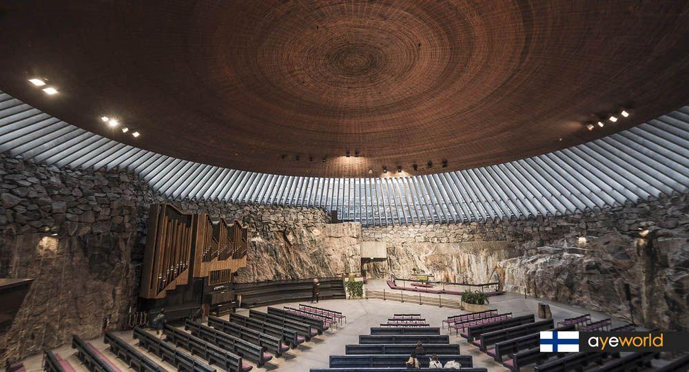 Temppeliaukio Church - La iglesia de la roca